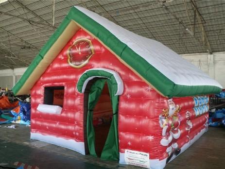 Casetta Di Natale Gonfiabile : Natale trentino gonfiabili noleggio e vendita giochi